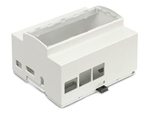 Preisvergleich Produktbild Markenlos Hutschienen-Gehäuse für Raspberry Pi Model B+,  6TE