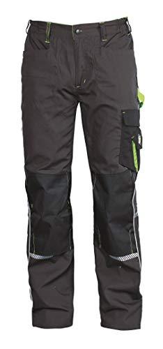 Stenso Prisma® - Pantaloni da Lavoro Stile Cargo - Uomo - Grigio/Verde EU46