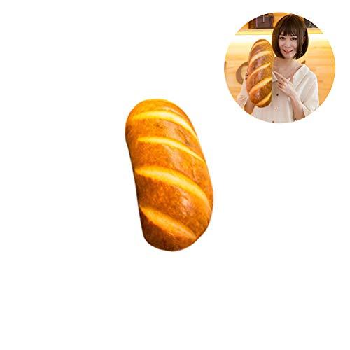 Comtervi Brot Kissen, Weiches PlüschKissen niedlich 3D Brot Form Kissen Dekorative Kissen Babyzimmer Deko Geschenk für Baby Kinder - Pod Baby Kostüm