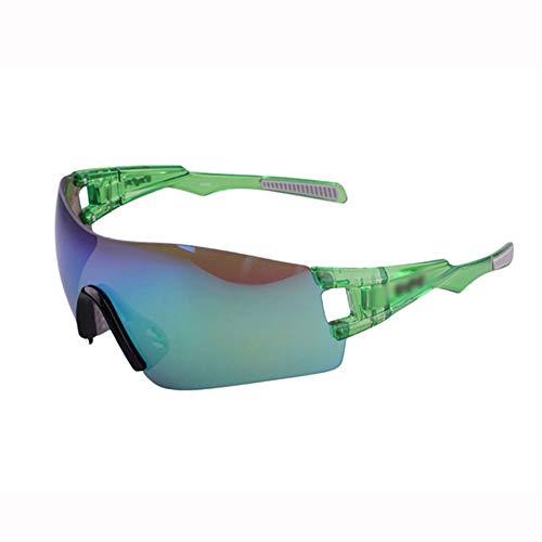 CXYGZLJ Rahmenlose Polarisierte Sport-Sonnenbrille Blendschutz UV Outdoor Marathon Laufen Angeln Mountainbike Reitbrille Unisex (Farbe : Grün)