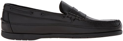 Sebago SLOOP Herren Slipper Black Oiled Waxy