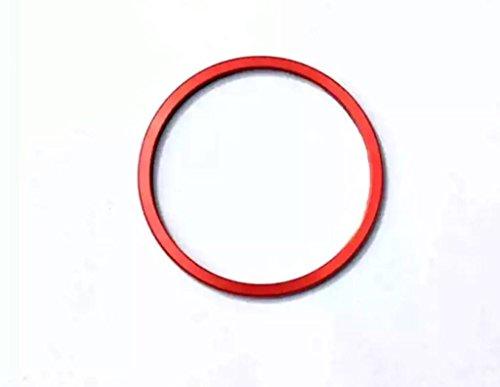 Emblem Trading Emblem Armatur Uhr Ring Abdeckung Lüftungs Rot Autozubehör C W205 (Uhr Emblem)