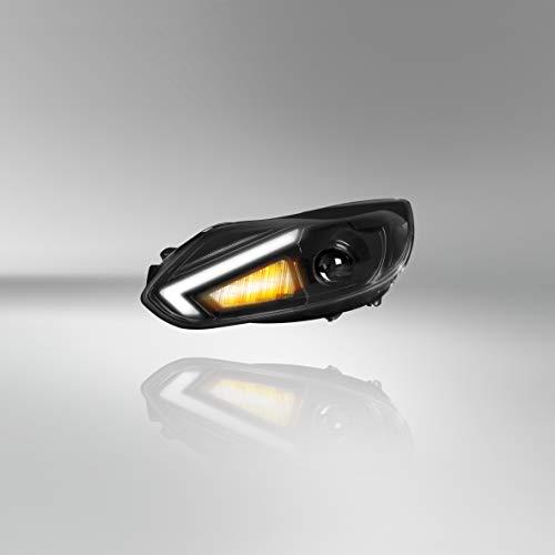 Osram LEDriving XENARC, Focus 3 Scheinwerfer, Halogenersatz zur Umrüstung auf LED & Xenon, LEDHL105, für Linkslenkerfahrzeuge (1 Komplett-Set), Schwarz Einheitsgröße