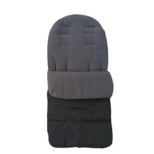 Wawer Baby Kleinkind neue Universal Fusssack gemütlich Zehen Schürze Liner Buggy Kinderwagen Buggy (Grau) Cotton Blend Liner