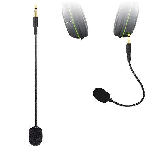 Limvoo Ersatzmikrofon für Headset, 3,5 mm, Turtle Beach Ear Force XO ONE Stealth Recon 50, 450, 400, 520, Z60, 500P - 520 Headset