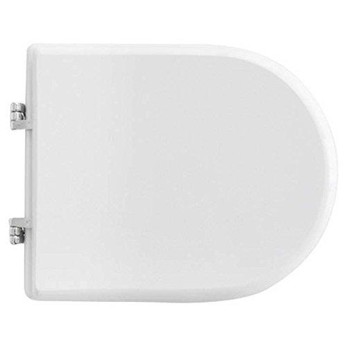 Copriwater coprivaso tavoletta sedile wc per globo vaso misura bianco