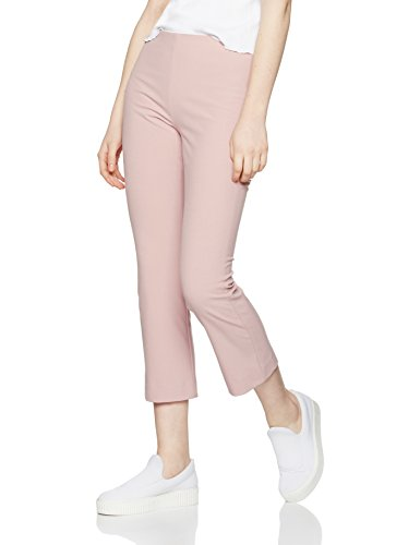 find-damen-hose-cropped-flare-rosa-old-rose-x-small