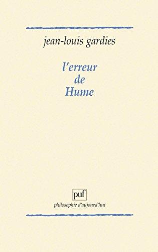 L'Erreur de Hume par Jean-Louis Gardies