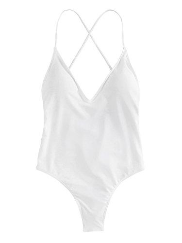 SOLYHUX Mujer Ropa Baño Vestido Playa Set Biquini
