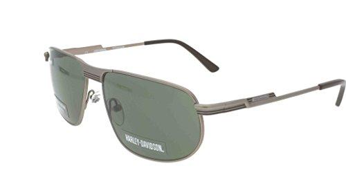 Harley Davidson HDX 875 COG 2 Sonnenbrille + Etui + Linse Tuch