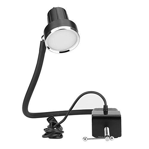 Hilitand LED-Nähmaschinenleuchte, TD-56 5W Dreischicht-Dimm-Industrie 30 LEDs Lichtnählampen Nähmaschinen-Arbeitslicht(EU Plug) (1445 Led-lampe)