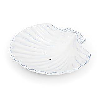 Abbott Collection Ceramic Shell Soap Dish