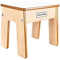 Preisvergleich für Little Helper FSTL01-3W - Funstool Kinderhocker aus Holz, Weiß