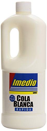 Imedio 6304598 - Pegamento, 1 kg, color blanco
