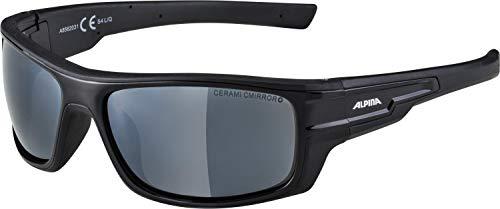 Alpina Sonnenbrille Tour Glacier CHILL ICE CM+ Sportbrille, black, One Size