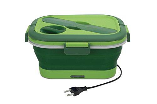 Cécoa Lunch-Box, klappbar, aufheizbar grün