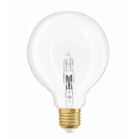 OSRAM Vintage Edition 1906 Retro Design Globe Shape Halogen Lamp, Warm White, E27, 20 W, 230 V, 2700 k