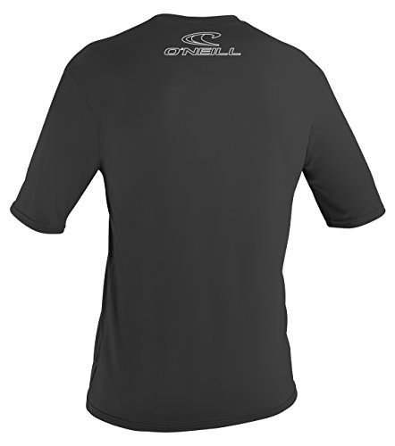 ONEILL WETSUITS Herren Basic Skins S/S Tee Rash Vest Black