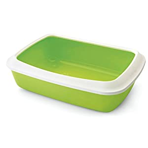 Savic Isis Cat Litter Tray, 42 cm, Cold Grey