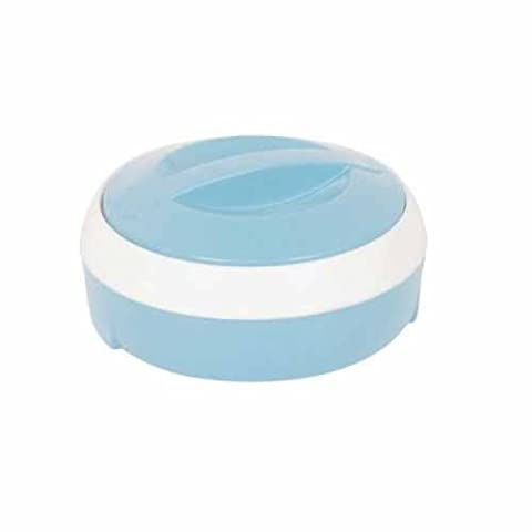 Small / Large Stainless Steel Insulated Casserole Food Warmer Storage Serving Dish (6 Litre, Blue)