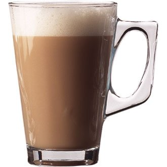 UTOPIA I7680Glas Latte Tasse, 22Oz, 250ml, 11,1cm hoch (12Stück)