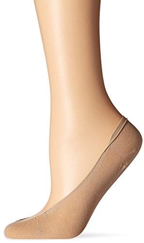 Hanes Women's Script X-Low Cotton Foot Covers Dress Sock pack of 2