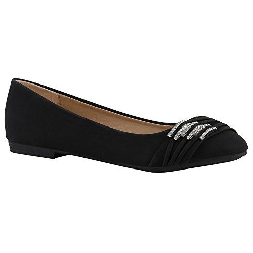 De Tamanhos Bailarinas Óptica Sapatos Em Strass Lazer De Clássicas Senhoras Preto Couro Flats vw6fqC