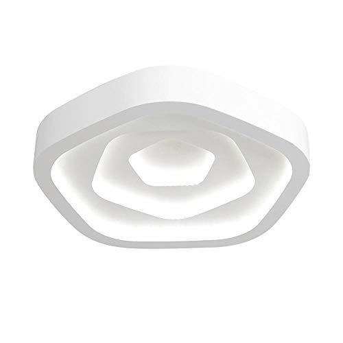 Warme und romantische Rosette Deckenleuchte moderner minimalistischer Augenschutz LED Decke Schlafzimmer Wohnzimmer Arbeitszimmer Restaurant -