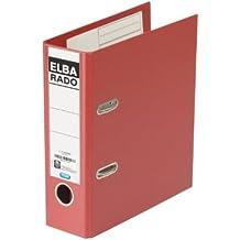 Elba Rado Plast - Carpeta (8 cm, Rojo)