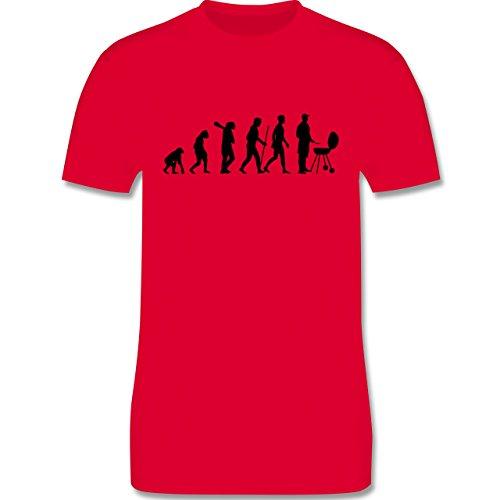 Evolution - Grill Evolution - Herren Premium T-Shirt Rot