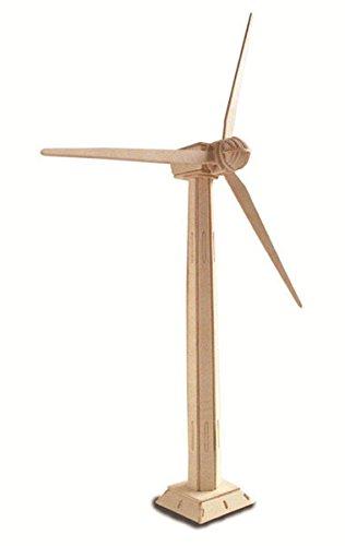 Windkraftanlage QUAY Holzkonstruktion Kit FSC