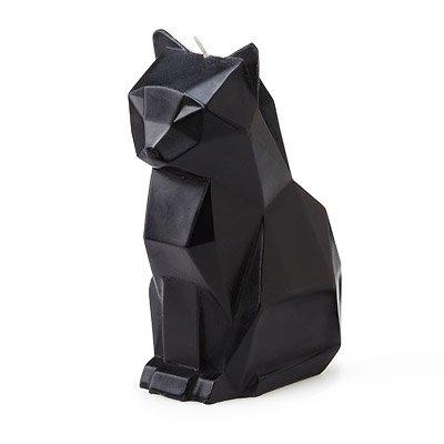 Pyro Pet Kerze Katze ,,Kisa' - Schwarz