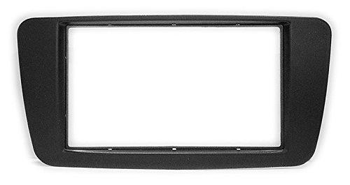 carav 11–617 Doppel DIN Autoradio Radioblende DVD Dash Installation Kit für Mercedes-Benz a-klasse (W176) 2012 +; b-klasse (W246) 2012 +; gla-klasse (X156) 2014 + Faszie mit 173 * 98 mm und 178 * 102 mm (Mercedes Stereo Installation Kit)