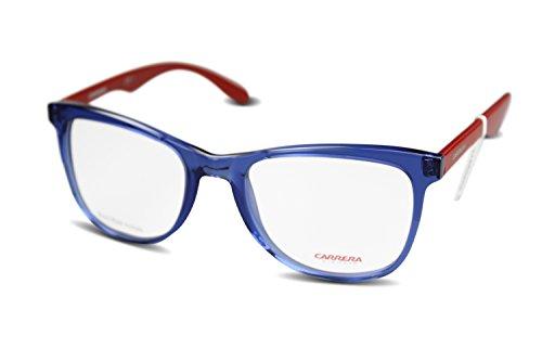 Carrea occhiali in plastica per donne CA6600(53-20-145) multicolore blu/rosso