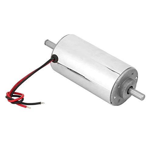 12-48VDC 400W Spindelmotor, luftgekühlter Hochgeschwindigkeits-Chromplatten-Spindelmotor -