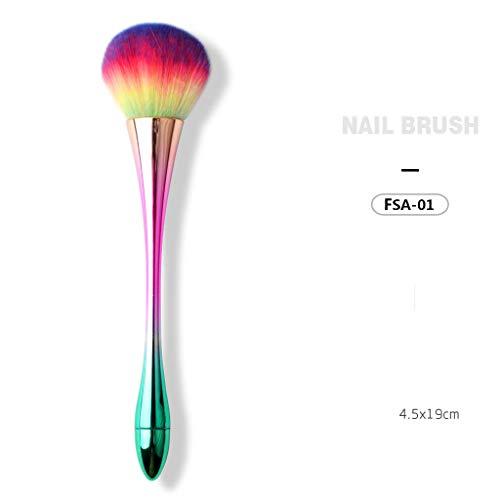 te Make-up Pinsel,Xmansky Nagel Staub Entfernen Kunst Pinsel Polnischen Pen Kit Pinsel Für Salon Maniküre DIY 1 STÜCKE ()