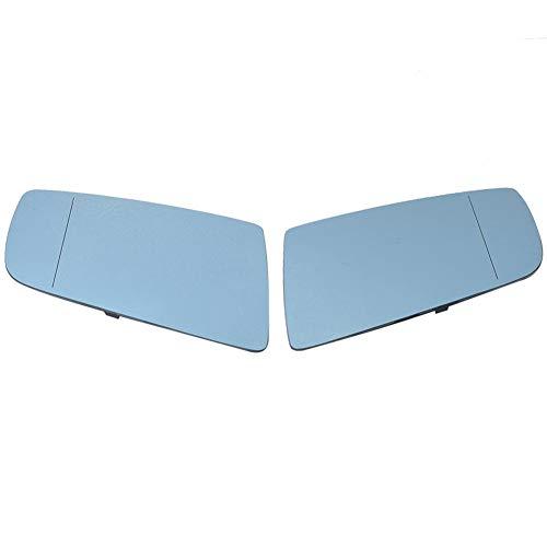 Spiegelglas Links + Rechts Spiegelglas Sate Set, Blau H… | 00888247987281