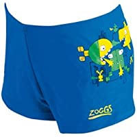 Zoggs Boy's New Wave Hip Racer Swimming Trunks