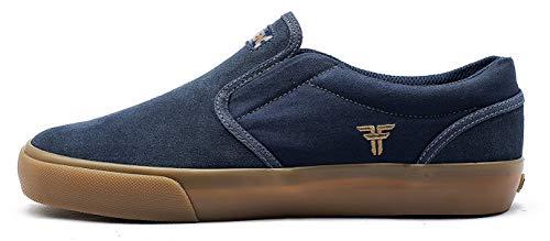 Fallen The Easy. Zapatillas de Skate, Hombre. 43 EU, Navy/Gum