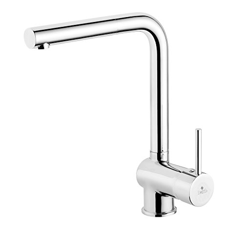 Succsale High Quality Kitchen Sink Mixer Tap High Pressure Basin Mono Mixer Sink Tap – Chrome – Model: Aster Deante