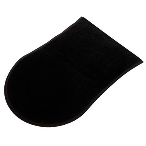 Sharplace Doppelseitiger Bräunungs-Optimierer/Luxuriöser Samt Handschuh als Applikator von Selbstbräunungscreme - Schwarz