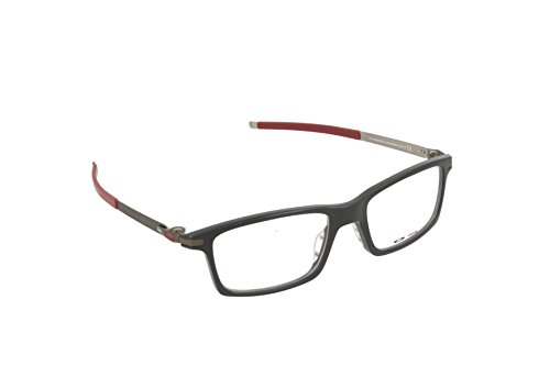 cc31730f70 Oakley Rx Eyewear Men s Ox8050 Pitchman Polished Black Frame Metal Plastic  Eyeglasses