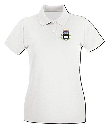 Cotton Island - Polo pour femme TM0076 comune-di-cesena-marcofox citta Blanc