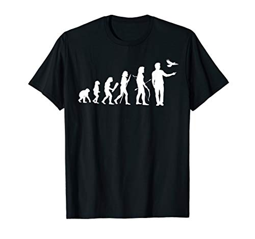 Lustige Kostüm Jäger - Lustiges Jäger Tshirt Falkner Shirt Evolution für Jägerin