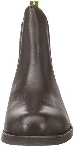 Tuffa Polo Jodphurstiefel aus Leder Braun