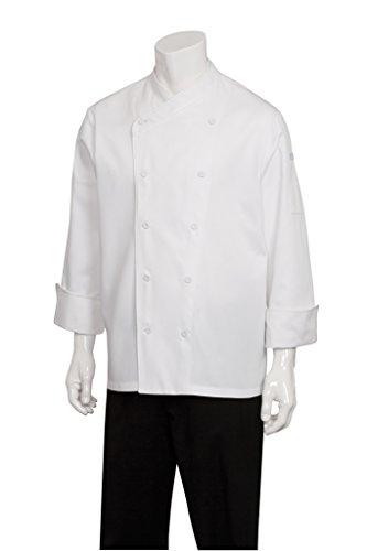 Funktioniert Chef Männer St. Maarten Küchenchef Mantel (COCC) (Küchenchef Mantel)
