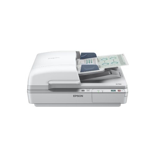 Epson WorkForce DS-6500 Scanners, A4 Versatile Document Scanner, 1,200 DPI scanning resolution, 215.9mm x 1,016mm scanning range, 100mm x 148mm scanning ranger min, ultrasonic sensor, ReadyScan LED technology, single pass dual scanning, duplex scan, 3000