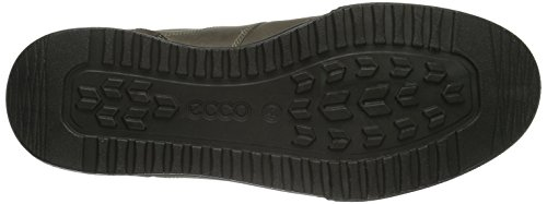 Ecco Fraser, Sneaker À Encolure Basse Pour Homme Brown (dark Clay / Stone 56818)