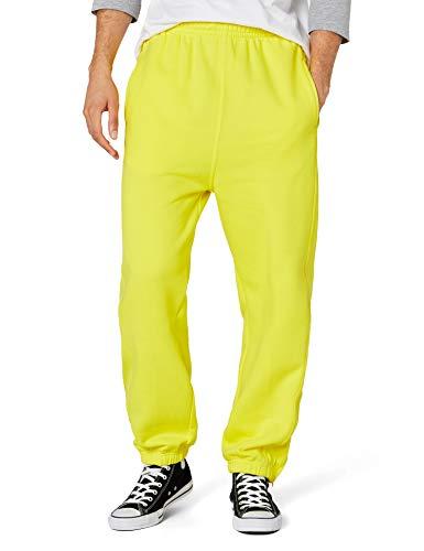 Pantalones deportivos amarillos para hombre