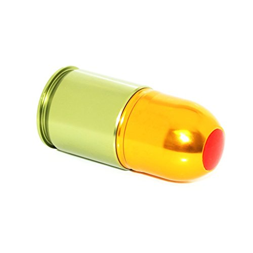 Airsoft Softair Ausrüstung Army Force Short PB/BB 40mm CO2 Granaten Patronenhülse Grenade Cartridge Shell (Bb Granate)